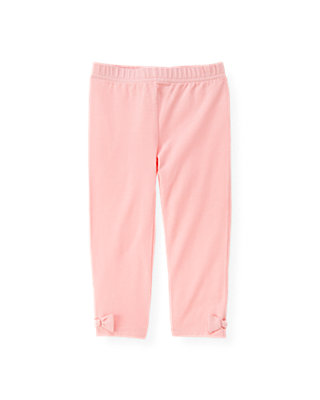 Classic Pink Bow Legging at JanieandJack