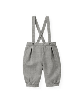 Classic Grey Herringbone Suit Knicker at JanieandJack