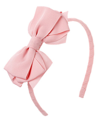 Pink Pink Bow Headband at JanieandJack