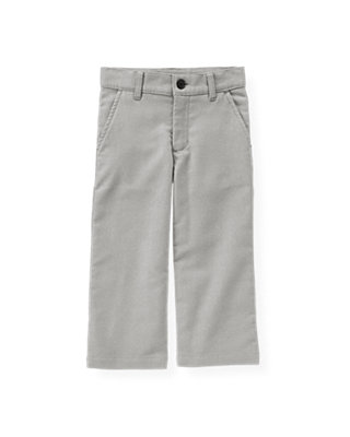 Heather Grey Moleskin Trouser at JanieandJack