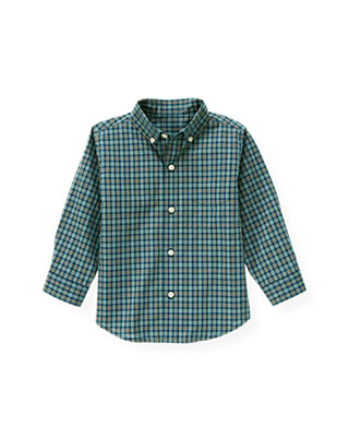 Propeller Blue Plaid Plaid Shirt at JanieandJack