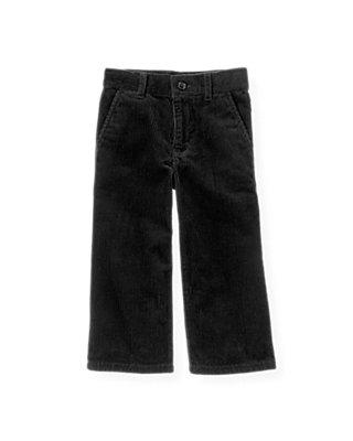 Black Corduroy Pant at JanieandJack