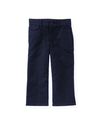 Classic Navy Moleskin Suit Trouser at JanieandJack