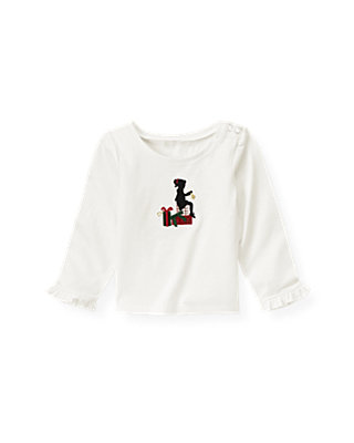 Jet Ivory Girl Gifts Top at JanieandJack