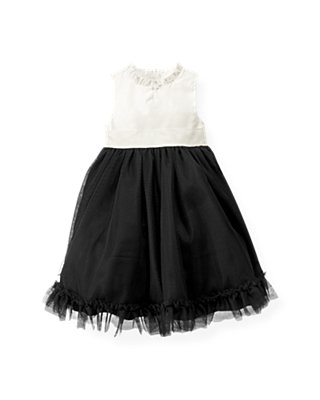 Black Tulle Ruffle Dress at JanieandJack