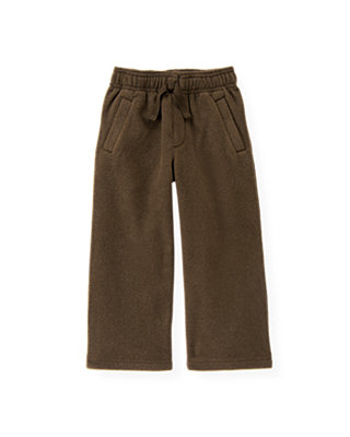 Moose Brown Microfleece Pant at JanieandJack