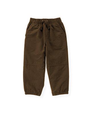 Moose Brown Lined Active Pant at JanieandJack