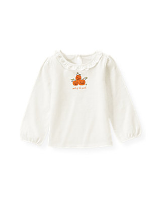 Jet Ivory Pumpkin Top at JanieandJack
