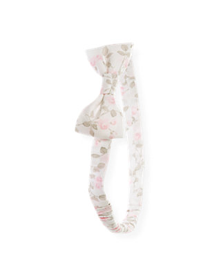 Ice Pink Floral Floral Headband at JanieandJack