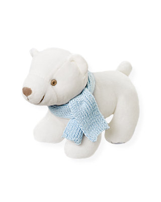 Jet Ivory Polar Bear Plush Toy at JanieandJack