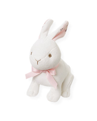 Jet Ivory Snow Bunny Plush Toy at JanieandJack