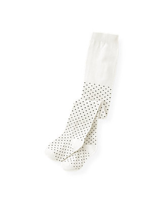 Ivory Dot Pindot Tight at JanieandJack