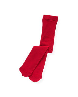 Holiday Red Microfiber Tight at JanieandJack