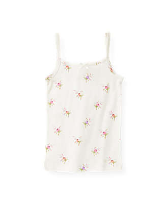 Ivory Floral Floral Camisole at JanieandJack