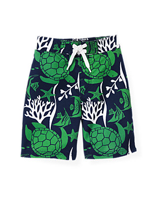 Turtle Turtle Swim Trunk at JanieandJack