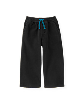 Classic Black Microfleece Pant at JanieandJack