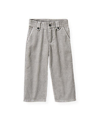 Winter Grey Corduroy Pant at JanieandJack