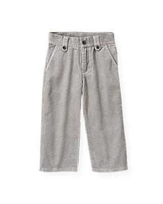 Winter Grey Corduroy Pant at JanieandJack