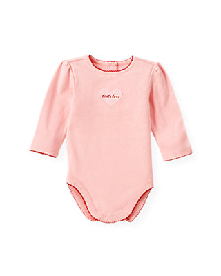 Baby Girl Marshmallow Pink Little Love Bodysuit at JanieandJack