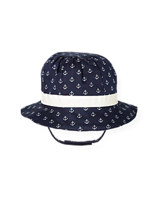 Nautical Navy Anchor Hat at JanieandJack