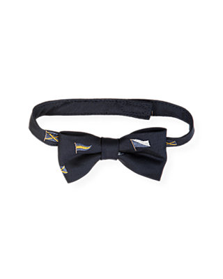 Boys Marine Navy Flag Bowtie at JanieandJack