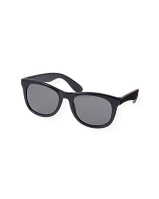 Boys Marine Navy Square Sunglasses at JanieandJack