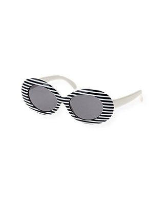 Resort Navy Stripe Stripe Sunglasses at JanieandJack