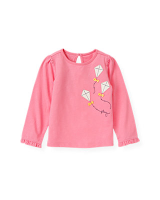 Azalea Pink Kite Top at JanieandJack