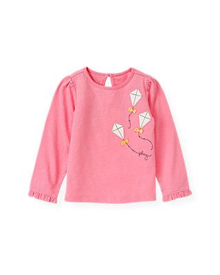 Azalea Pink Kite Top at JanieandJack