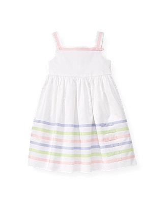 Pure White Ribbon Dress at JanieandJack