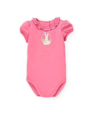 Butterfly Pink Bunny Basket Bodysuit at JanieandJack