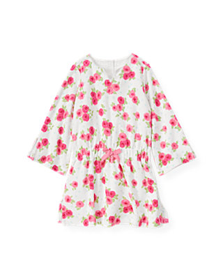 Bright Pink Rose Rose Terry Swim Cover-Up at JanieandJack