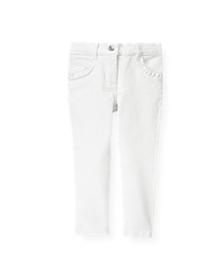 Pure White White Denim Jean at JanieandJack