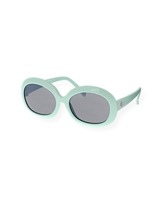 Blue Glass Pastel Sunglasses at JanieandJack