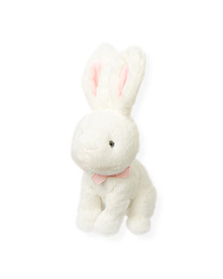 Pure White Bunny Rabbit Plush Toy at JanieandJack
