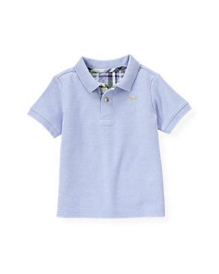Boys Purple Thistle Polo Shirt at JanieandJack