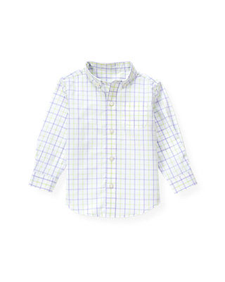 Purple Thistle Check Tattersall Dress Shirt at JanieandJack
