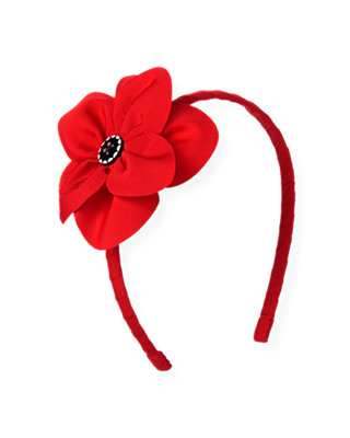Poppy Red Poppy Headband at JanieandJack