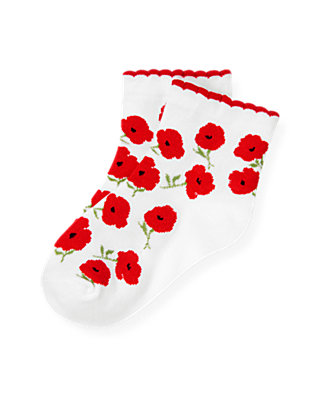 Poppy Poppy Floral Sock at JanieandJack