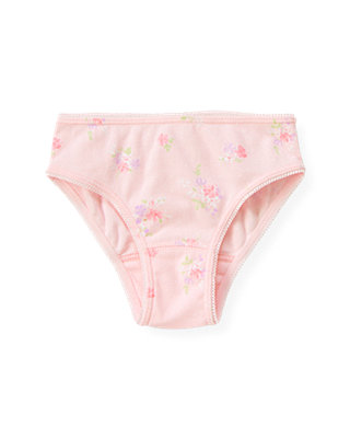 Orchid Pink Floral Panty at JanieandJack