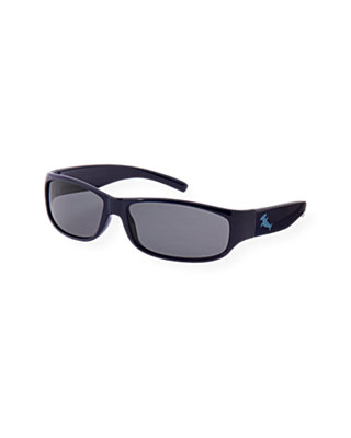 Boys Ocean Navy Shark Sunglasses at JanieandJack
