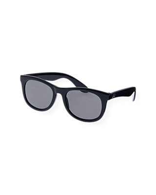 Boys Classic Navy Logo Sunglasses at JanieandJack