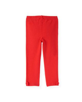 Poppy Red Bow Legging at JanieandJack