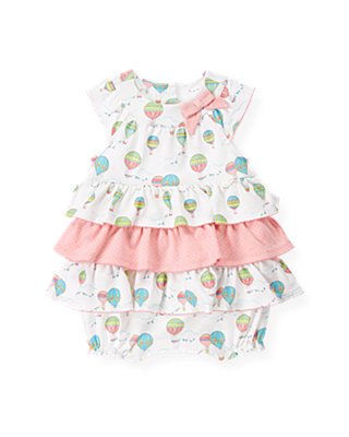 Baby Girl Hot Air Balloon Hot Air Balloon Tiered Bubble at JanieandJack