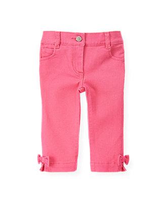 Azalea Pink Pink Denim Legging Jean at JanieandJack