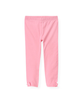 Flamingo Pink Bow Legging at JanieandJack