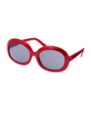 American Red Round Sunglasses at JanieandJack