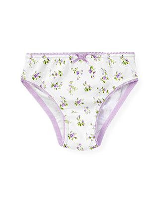 Light Purple Floral Panty at JanieandJack