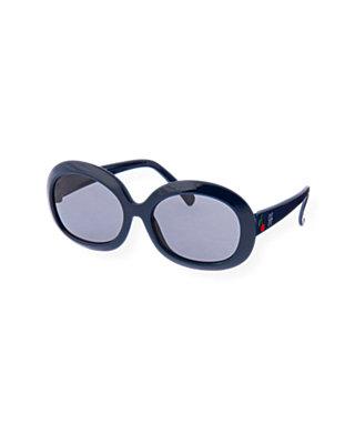 Classic Navy Cherry Sunglasses at JanieandJack