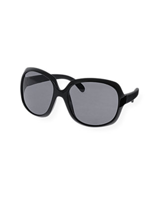 Classic Black Oversized Sunglasses at JanieandJack